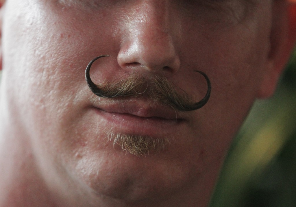 The National Beard and Mustache Championship in New Orleans