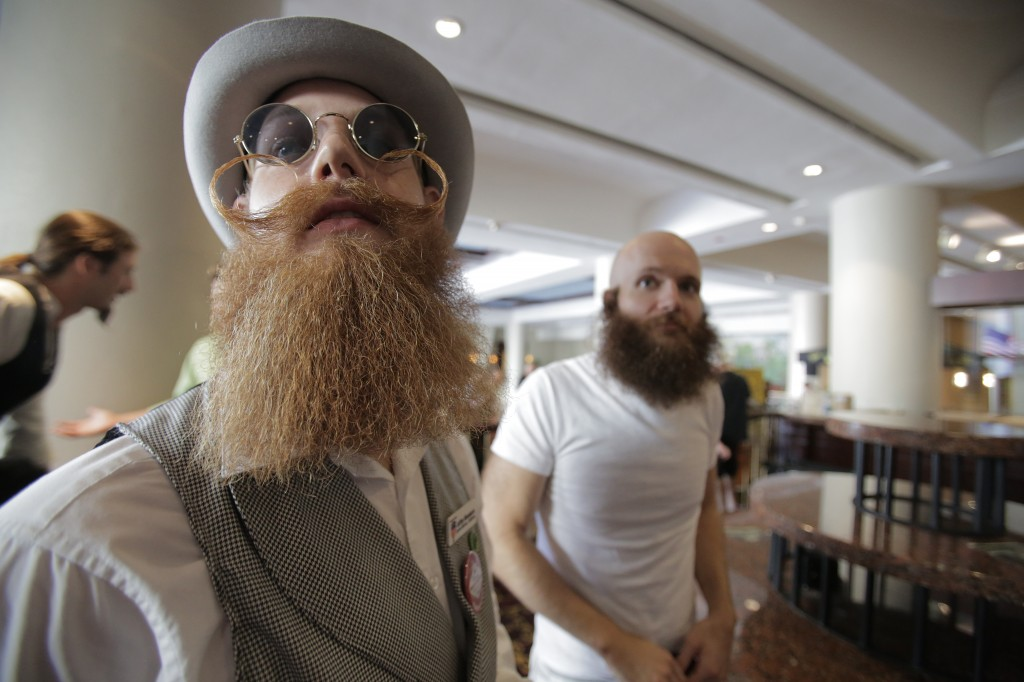 The National Beard and Mustache Championship starts in New Orleans