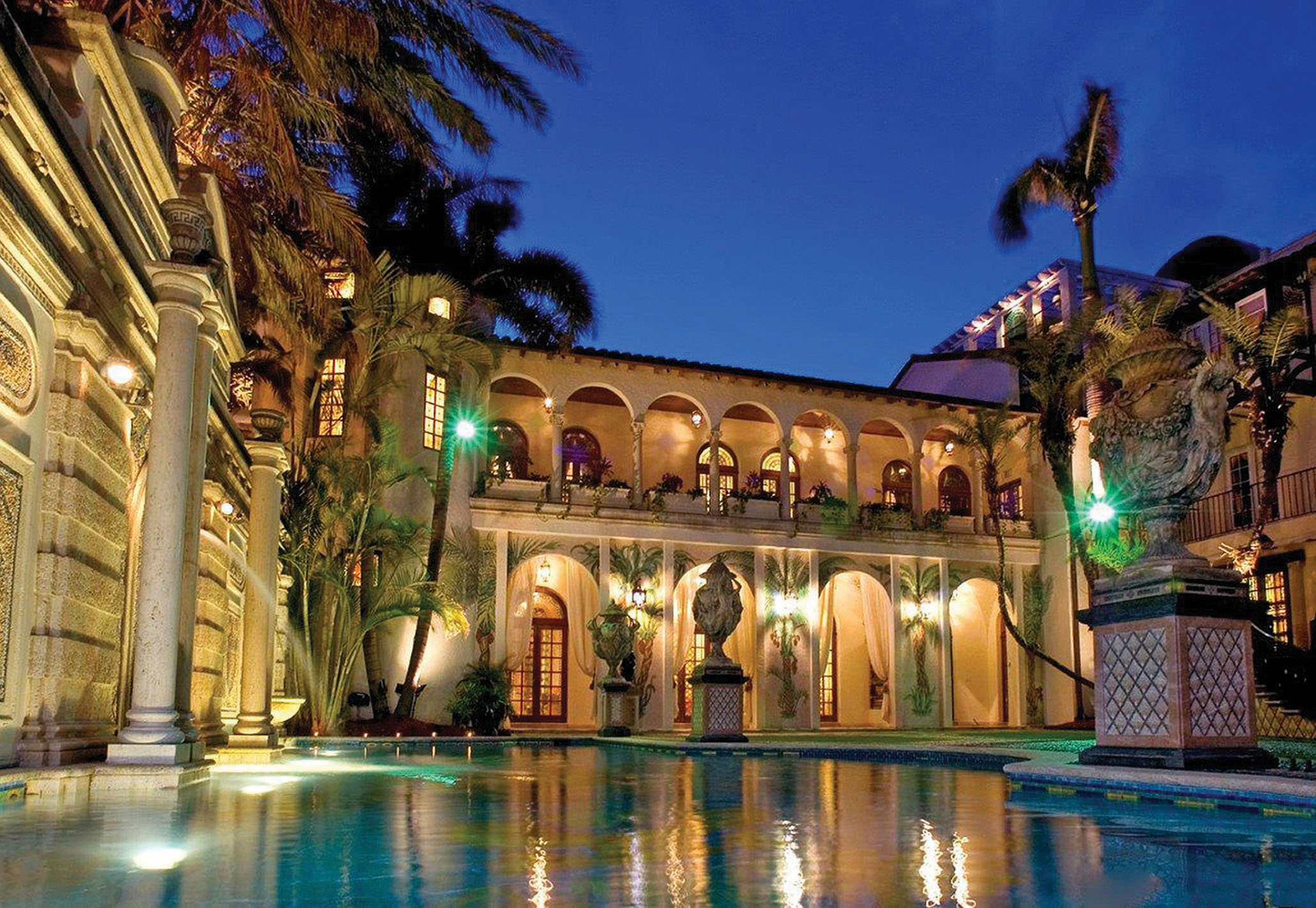 Stunning new images of the Gianni Versace mansion as the property is put up for auction