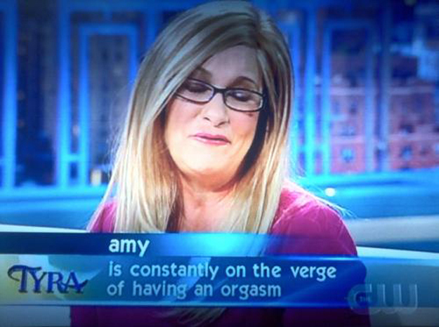 This woman living in ecstasy.