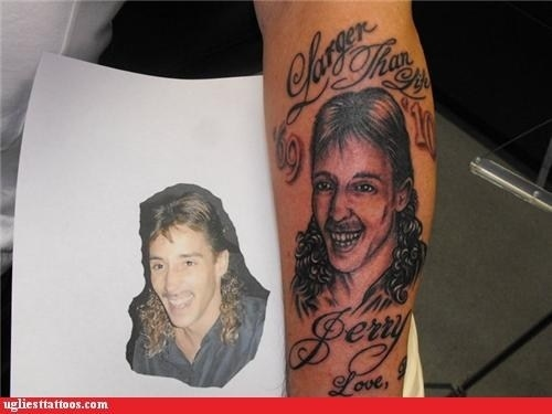 The person who agreed to tattoo a guy with a mullet.