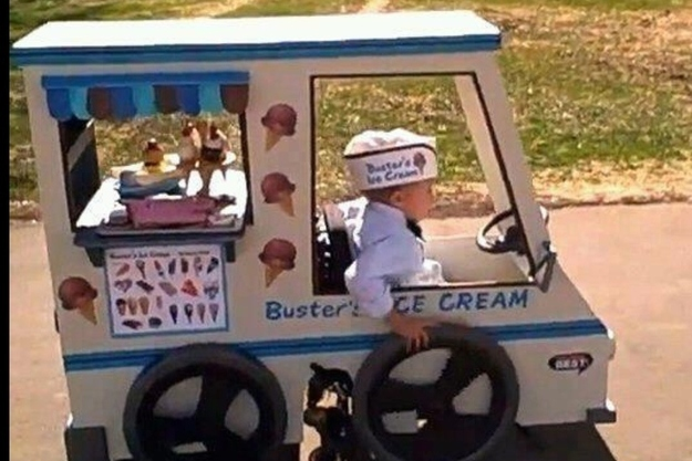 The parents who made their son's wheelchair into the best Halloween costume ever