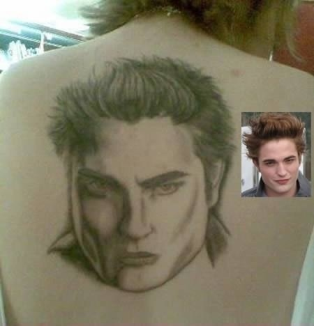 The artist who somehow made Edward Cullen's face fat and muscular at the same time.