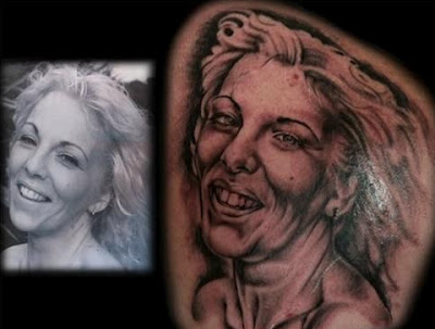 The tattooist who aged this woman 10 years.