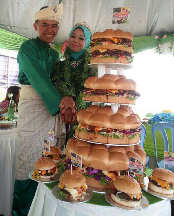Original wedding cake