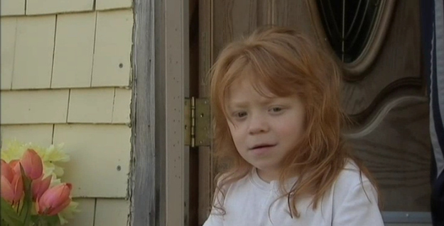 This is the little girl: