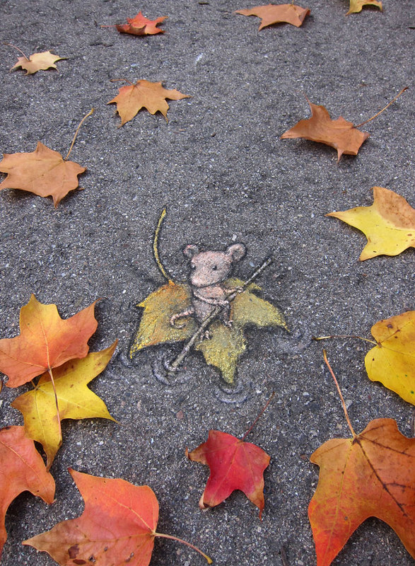 street art interacts with nature 34